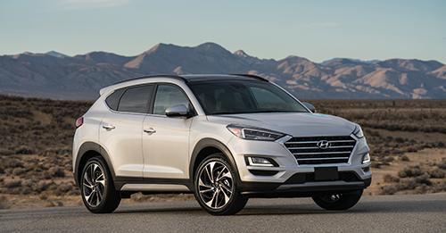 Hyundai Tucson face-lift