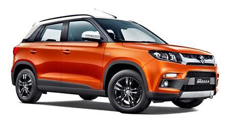 Maruti Suzuki Vitara Brezza face-lift