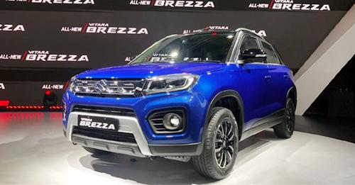 Maruti Suzuki Vitara Brezza Model Image
