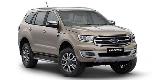 Ford Endeavour Model Image